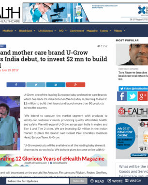 U-grow Featured in eHEALTH