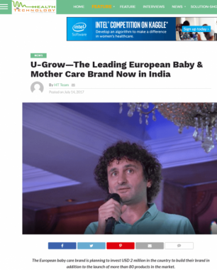 U-grow Featured in Health Technology