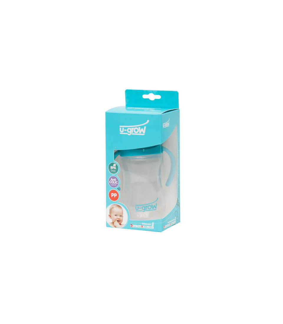Silicone baby bottles with temperature sensor A-1106
