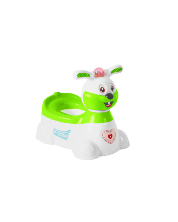 Bunny musical potty U8871-G