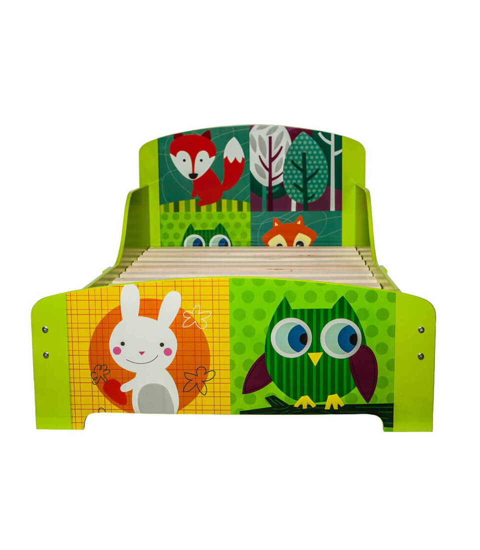 Junior Red Fox & Owl Bed