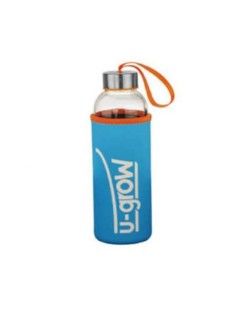 Bottle with thermally insulating cover UBTL-520BLU