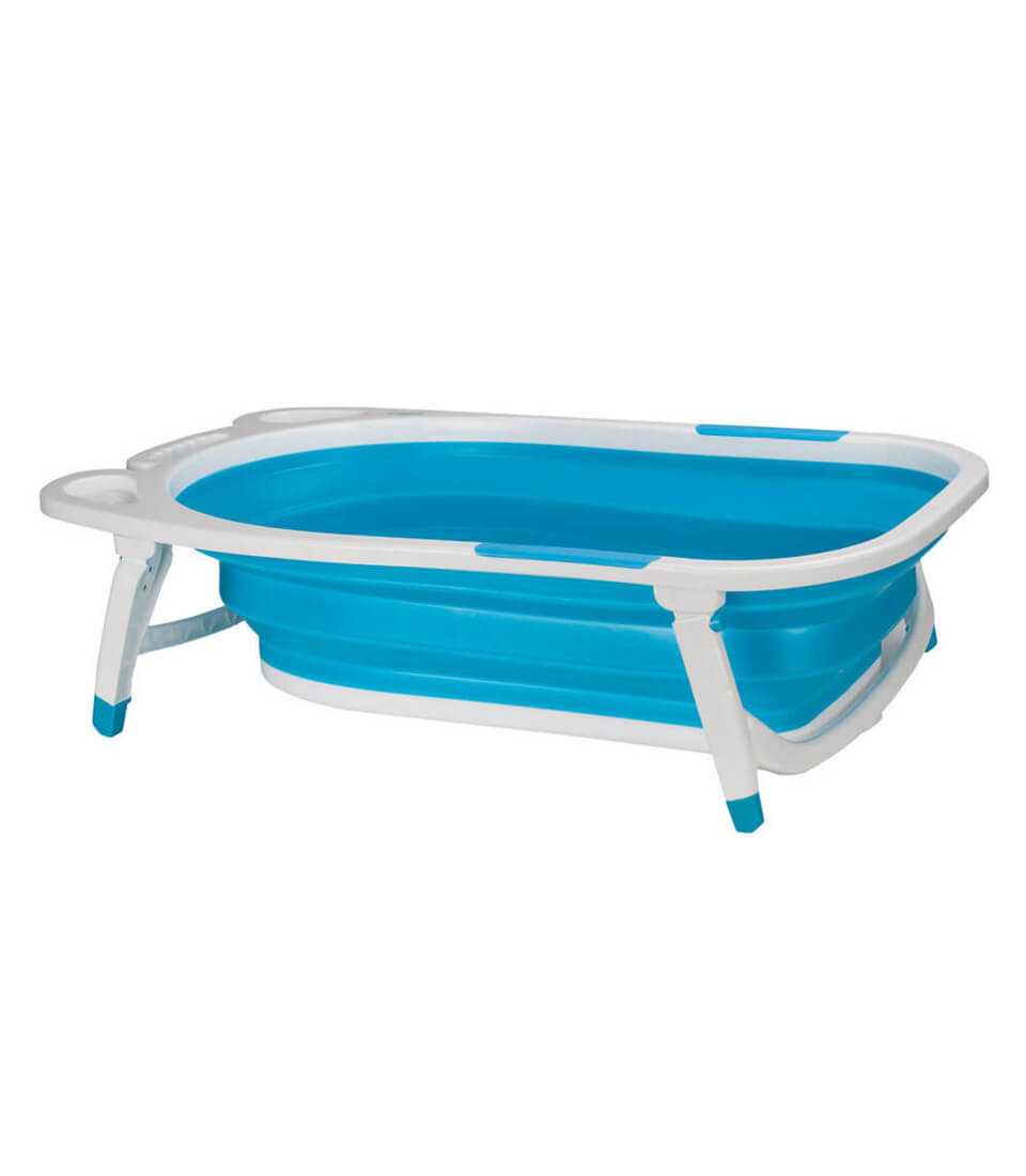 Buy Safe and Secure Blue Folding Bathtub Online | U-Grow